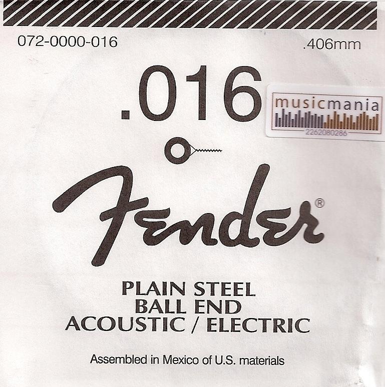 Fender 016