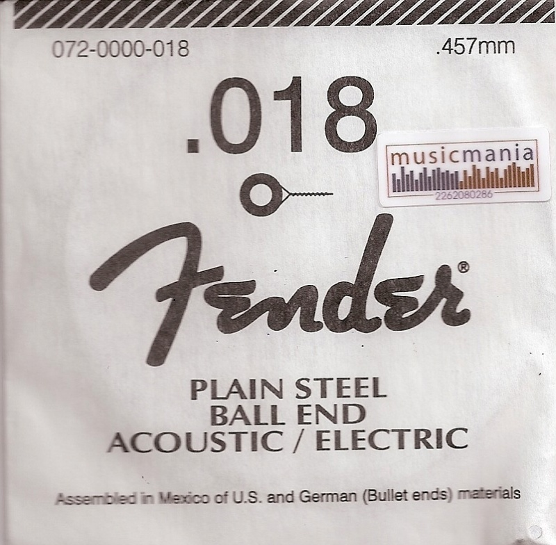 Fender 018